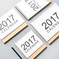 2017 Calendário Da Tabela Básica Projeto Caderno Espiral Bobina