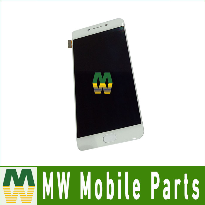 1PC /Lot High Quality For OPPO R9 LCD Display+Touch Screen  Digitizer Assembly  White Color
