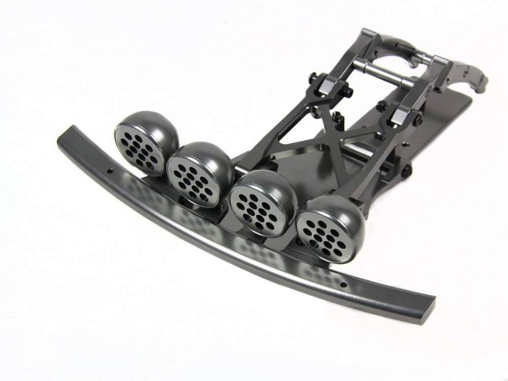 baja 5T 5SC alloy front bumper green color for HPI KM ROVAN alloy front hub carrier for 1 5 hpi baja 5b 5t 5sc