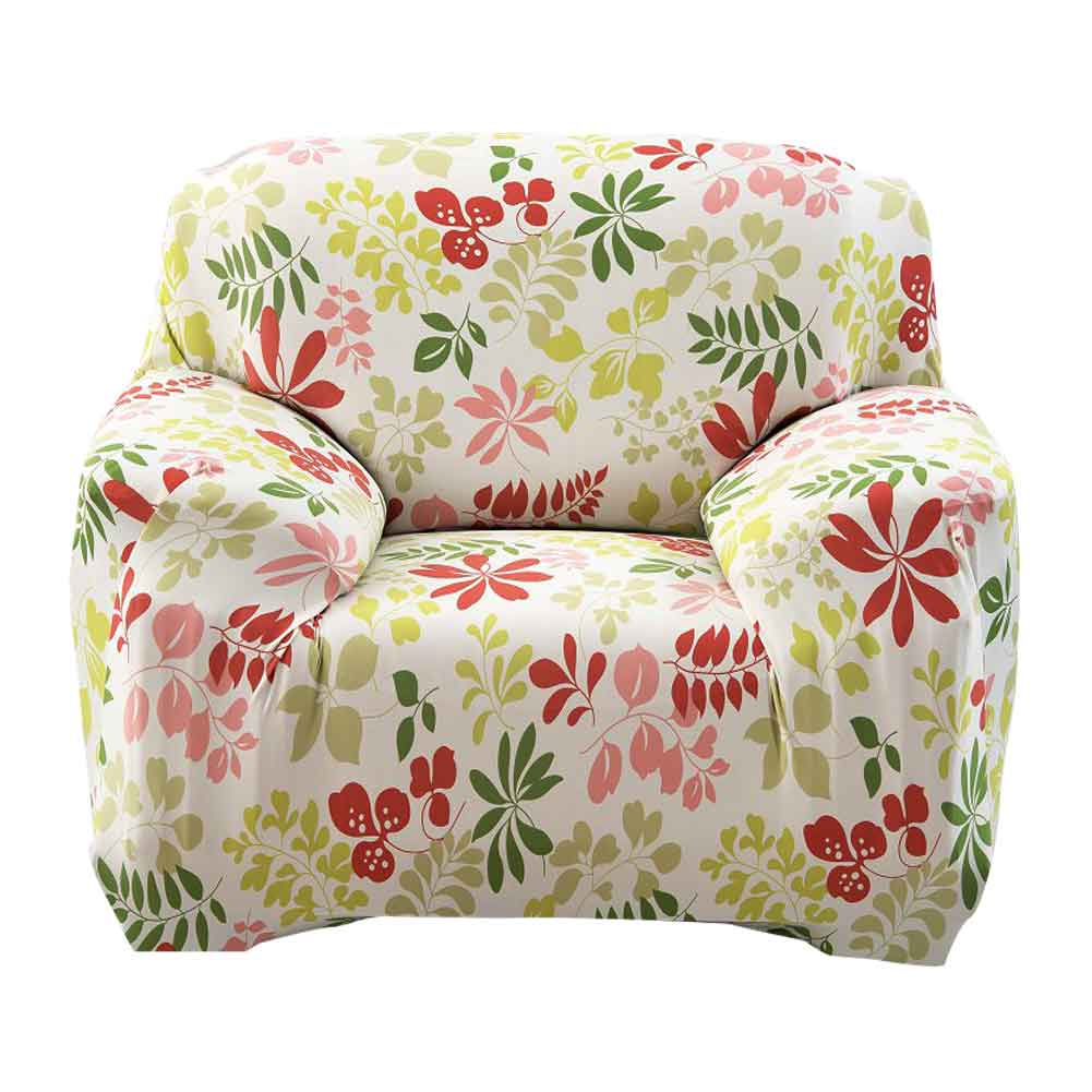 Neue Blumenmuster Muster Tuch Sofa Cover Spandex Stretch Schonbezug ...