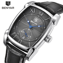 цены BENYAR Brand Luxury Men 5114M Watch Date 30m Waterproof Clock Male Casual Quartz Watches Men Wrist Sport Watch Erkek Kol Saat
