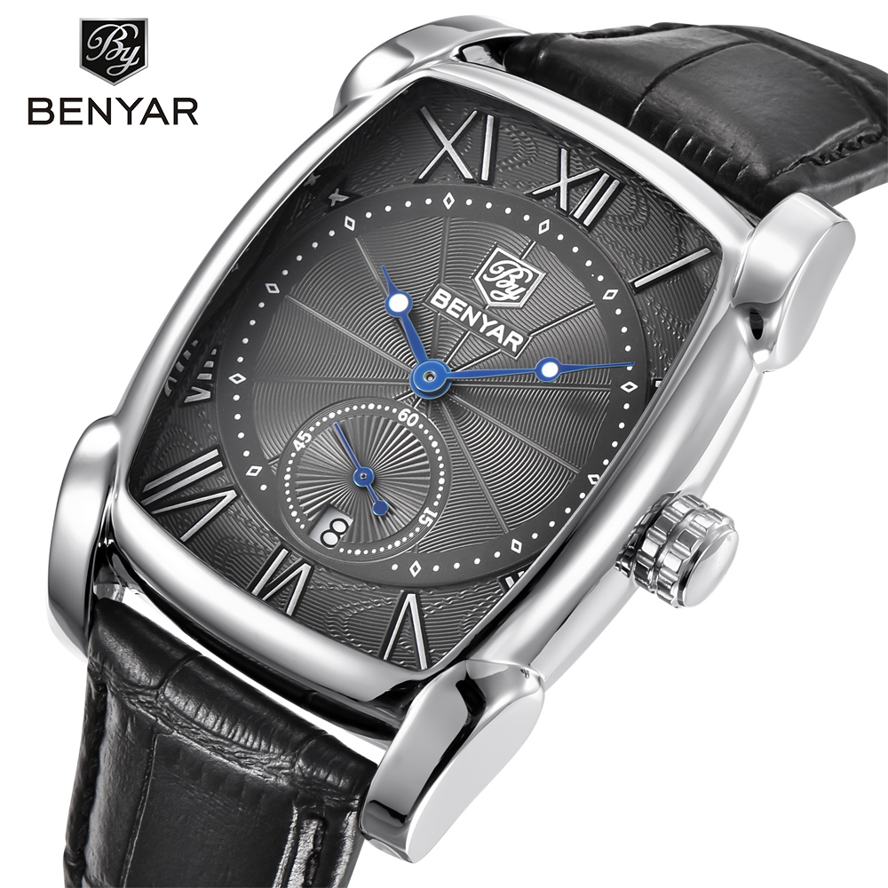 BENYAR Brand Luxury Men's Watchs