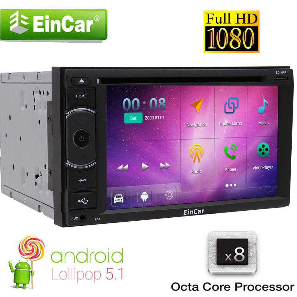 Octa Core Android5.1 Car Stereo DVD GPS Muti-media Player Mirror-link Navigation