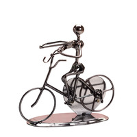 Iron Bicycle Band Music Box Castle To Alice Holiday Birthday Valentine S Day Gifts Toys Decoration
