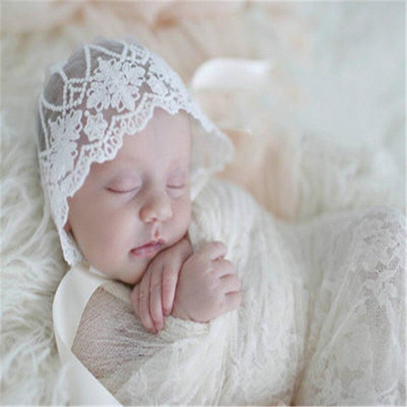 Cute Baby Girl Boy Autumn Hat Newborn Lace Hats Newborn ...