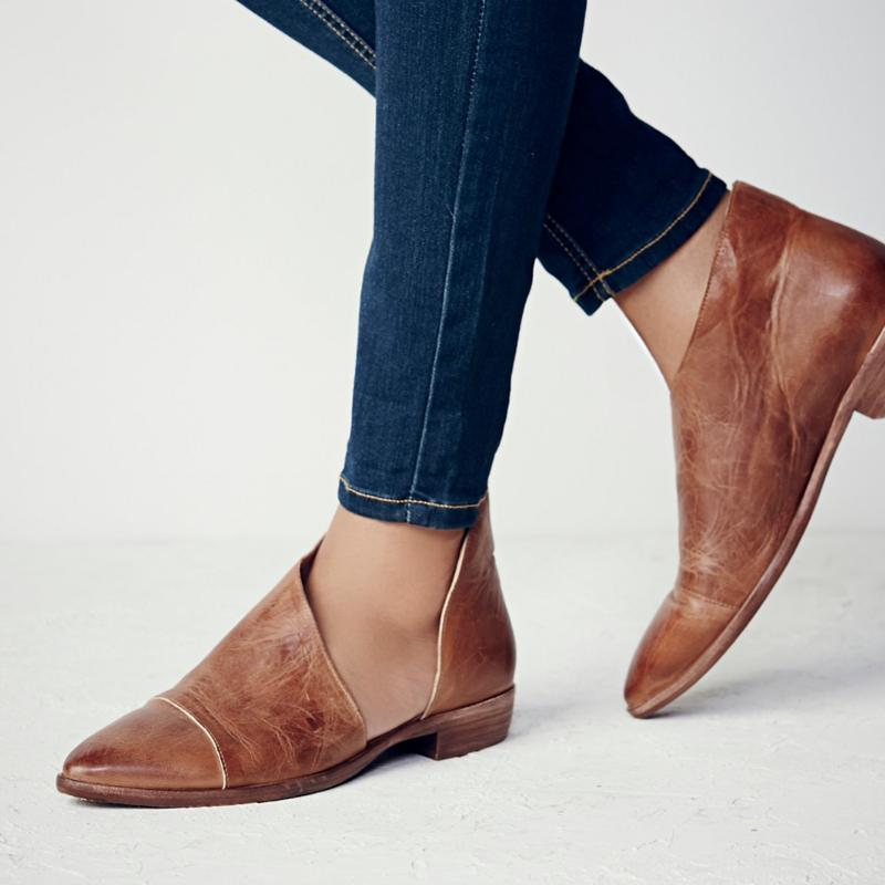 CITYCROSS 2018 new special design women sandals popular flats soft pu leather upper lady fashion shoe big size 35-43
