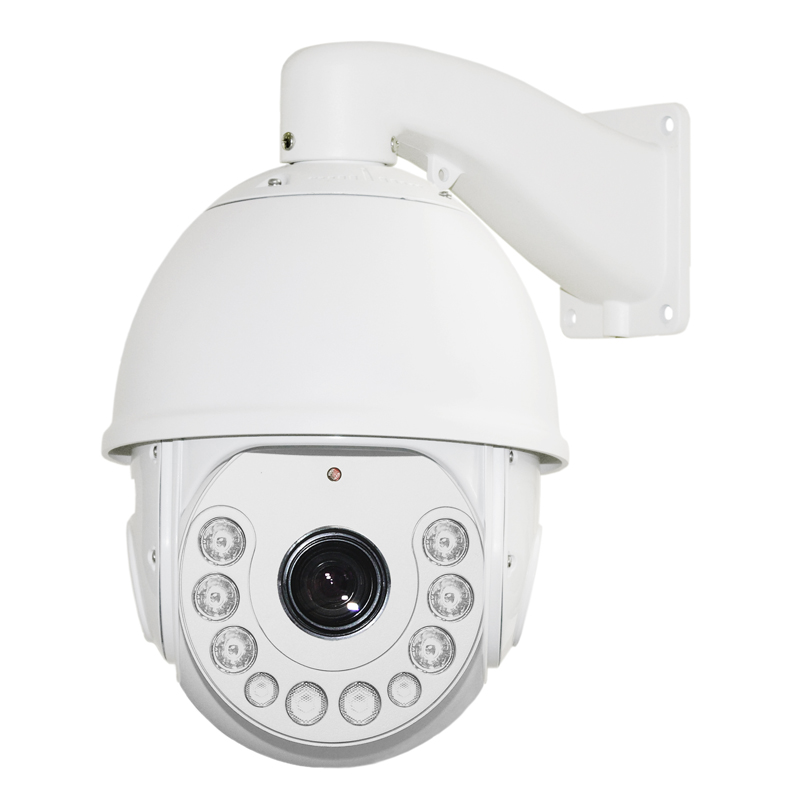 fa6505392a7 2.0MP HD Network Speed Dome H.264 18X ZOOM Waterproof CCTV PTZ 1080P Network