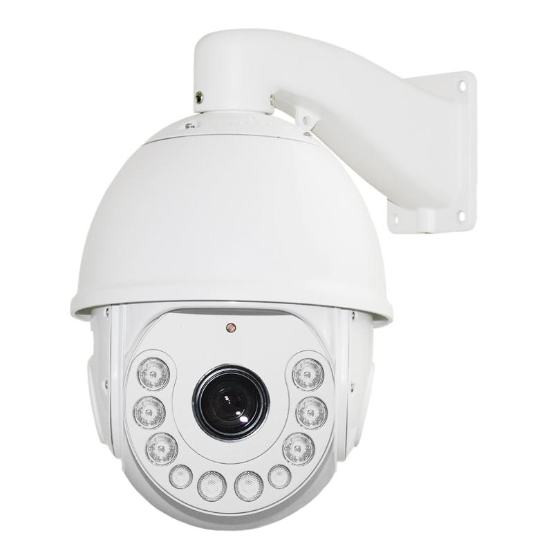 Kamera 2.0MP HD Speed Speed Dome H.264 18X ZOOM Vodotěsná CCTV PTZ 1080P Síťová kamera HD ptz kamera