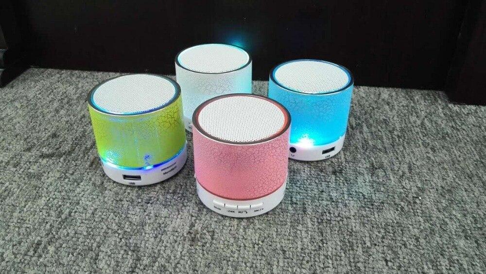 Mini Color LED font b Portable b font Wireless Bluetooth Speaker font b audio b font