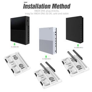 Image 5 - OIVO Dual Bộ Điều Khiển Đế Sạc Dành Cho Xbox ONE Làm Mát Chân Đứng Trò Chơi Lưu Trữ Sạc dành cho Xbox ONE/S/X Tay Cầm
