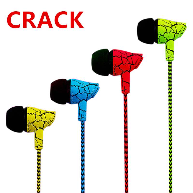 PTM A10 Reflective Cloth Line Earphone Headphone Crack Earbuds with Microphone Stereo Headset with Mic for Mobile Phone iPhone оптика для ваз 2114 купить