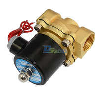 Brand New High Quality Solenoid Valve NPT 3 4 AC220V Direct Air WOG Normally Closed Pneumatic