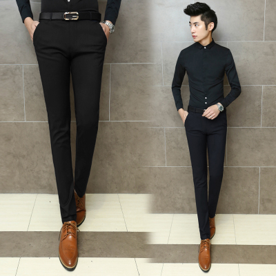 Aliexpress.com : Buy Hot Sale New 2015 Casual Tight Mens Black ...