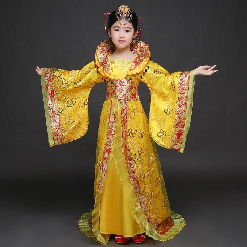 Здесь продается  Hot Sale New Traditional Royal Dramaturgic Chinese Ancient Princess Costume Hanfu Female Dress Han Dynasty Clothing  Одежда и аксессуары