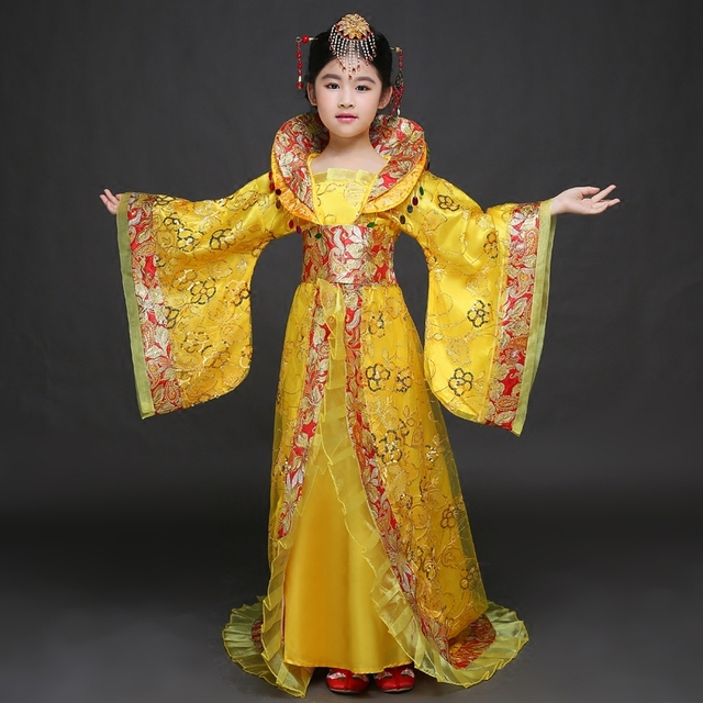 e2040451e95d Hot Sale New Traditional Royal Dramaturgic Chinese Ancient Princess Costume  Hanfu Female Dress Han Dynasty Clothing