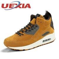 Plus Size Oddychające Wysokie Szczyty Trampki Unisex Buty Do Biegania Mężczyzn W Nowym Stylu Mężczyzna Athletic Shoes Zapatillas Trenerów Air-Poduszki