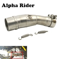 2017 2018 For Yamaha XMAX X MAX 250 300 Motorcycle Slip on Exhaust Muffler Middle Pipe Mid Tube XMAX250 XMAX300
