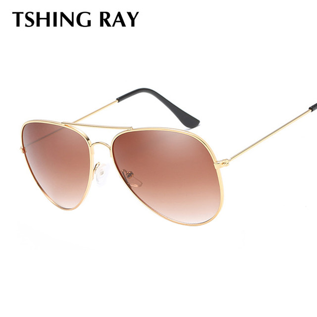 Online Shop TSHING RAY Women Aviation Clear Glasses Frame Female ...