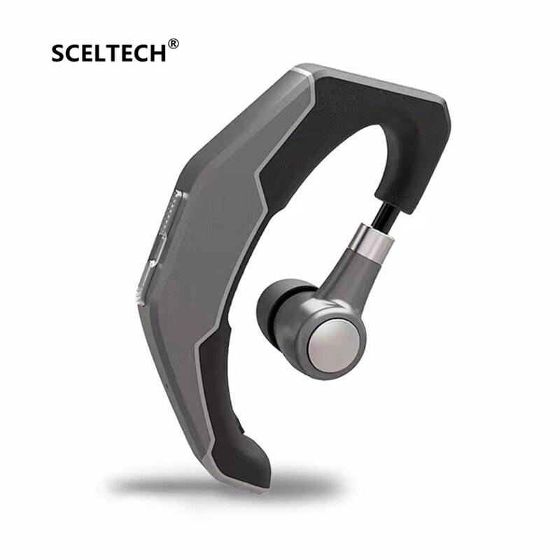 SCELTECH Q3 Bluetooth Headset Ear Hook Wireless Earphone CSR4.1 HD MIC Handsfree Phone Headphone Universal for iPhone XiaoMi