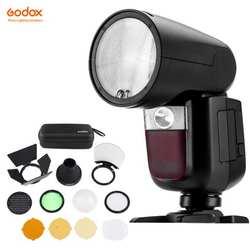 Fomito Godox V1 2,4G Беспроводной ttl на Камера круглый вспышка Speedlight для sony