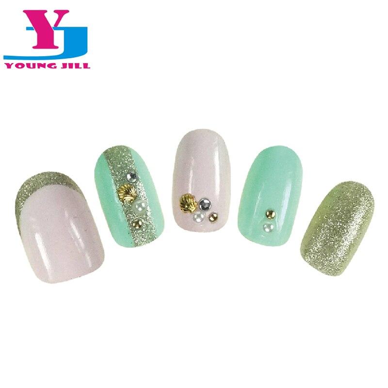 Venta caliente 24 unids/set falso uñas con diseños de dibujos ...