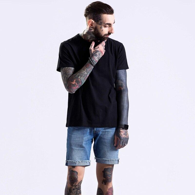 Été couleur unie T-shirt hommes et femmes à manches courtes grande taille lâche couleur unie chemise de fond couleur unie T demi manches
