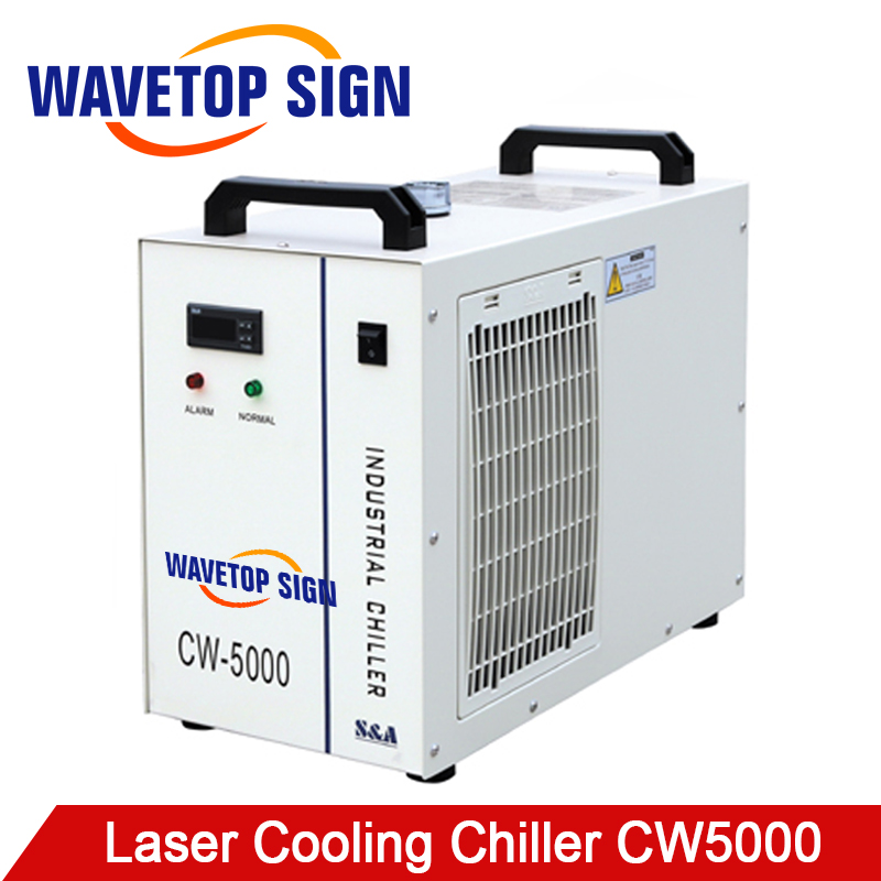 S&A CW5000 Industry laser chiller 60W 80W Air Water Chiller 80W 100W for CO2 Laser Engraving Cutting Machine cw5000 industry air water chiller for co2 laser engraving cutting machine cooling 80w 100w laser tube