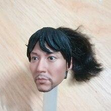 Sculpture de la tête de samouraï japonais 12 , échelle 1/6, pour les figurines daction