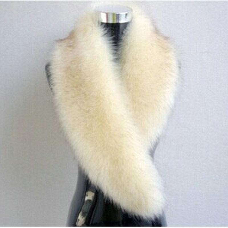 >Free shipping 2014 fakes fox fur collar raccoon fur collar <font><b>wool</b></font> <font><b>top</b></font> <font><b>cap</b></font> dickie shawls imitation fur scarf