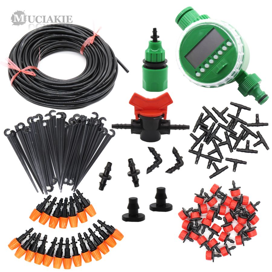 muciakie automatic irrigation system watering kit micro drip set