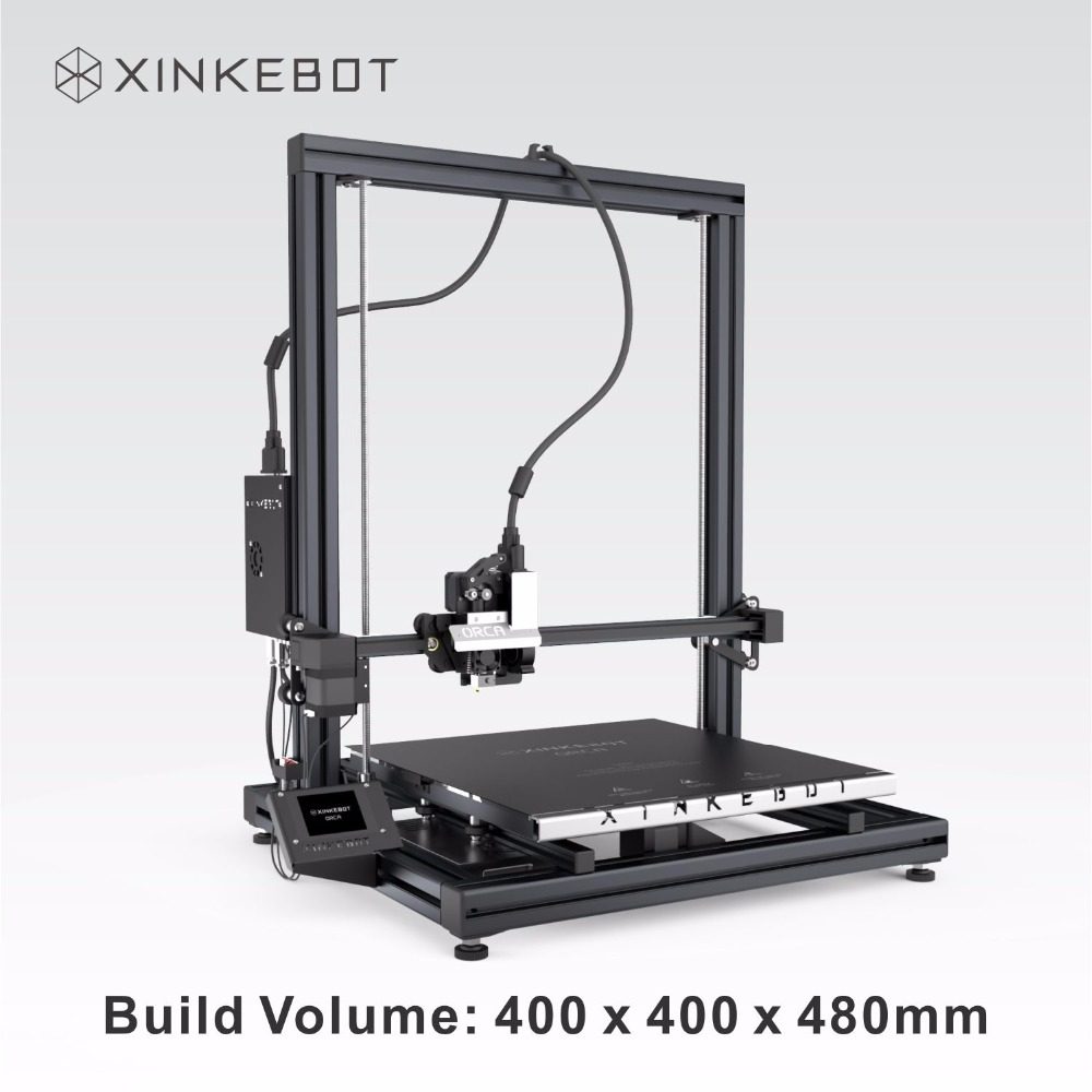 XINKEBOT Big Size Orca2 Cygnus 3D Printer E3D v6 Hotends High Quality Touch Screen DIY 3D