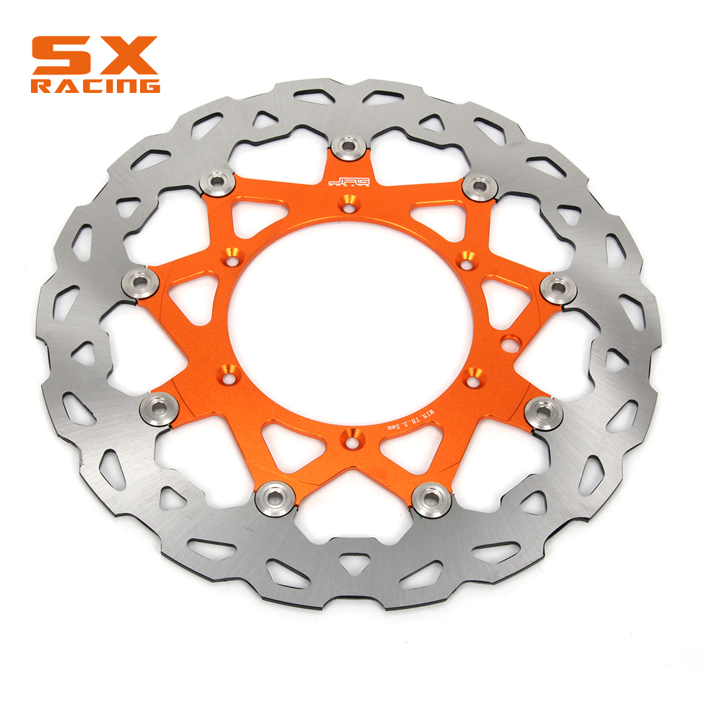 Motorcycle Front Floating Brake Disc Rotor For EXC SXS-F XC-F XC-W  XC-G GS MX MXC SX SX-F XC LC4 DUKE FE FC FS FX TC TE front brake disc rotor for ktm 380 exc 1998 1999 2000 2001 2002 sx mxc 1998 2001 400 egs exc g xc w 2007 2008 2009 07 08 09