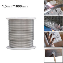 1.5mm/2.0mm*1000mm Solder Wire Copper Aluminum Cored Wire Stainless Steel Wire  Magic Electrode