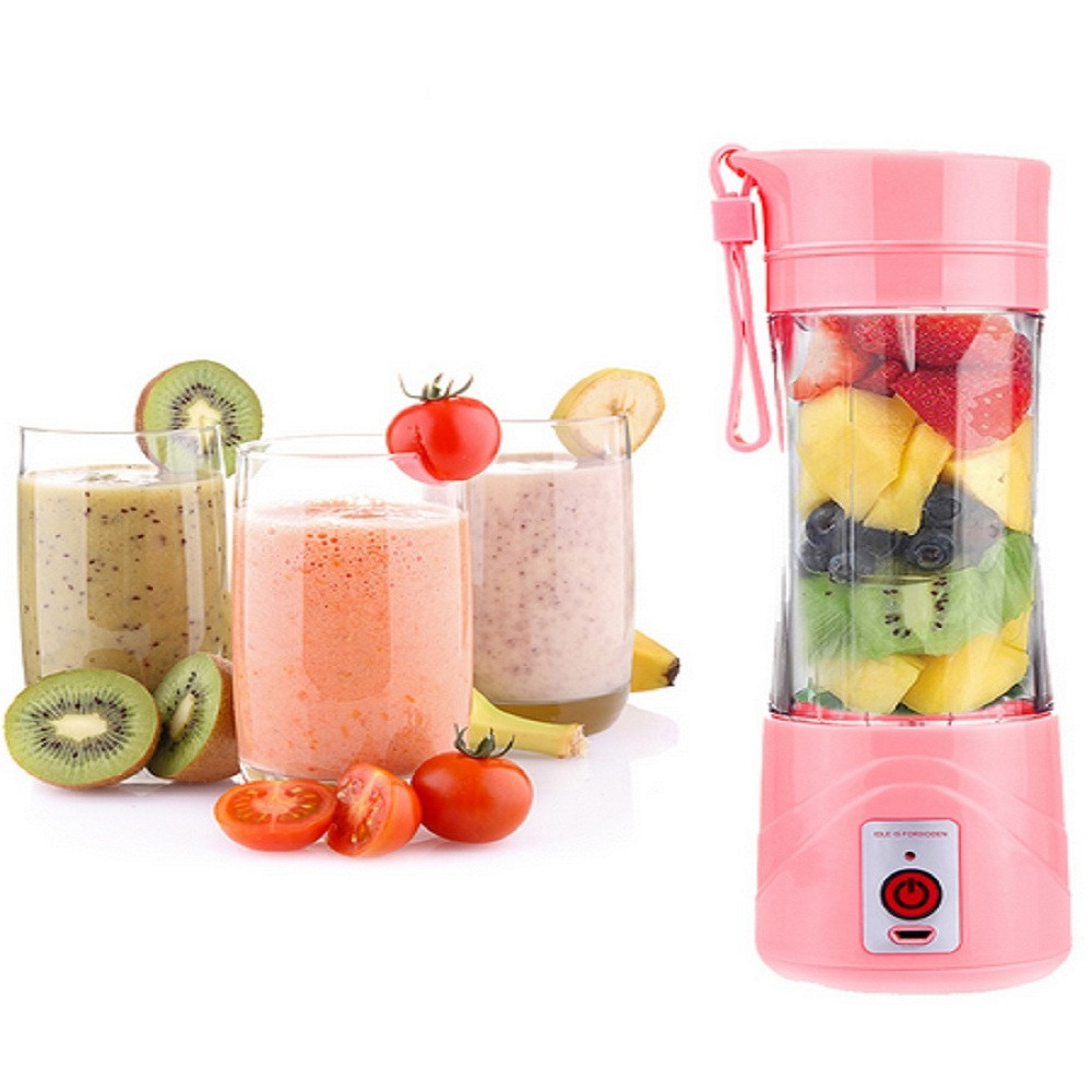 FIMEI 480ml Mini Portable USB Rechargeable Juice Extractor Household Juicer Bottle Cup Portable Blender Kitchen Appliance usb rechargeable 500ml healthy portable hydrogen rich water cup transparent glass bottle with lid