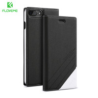 5 5s Original Brand FLOVEME Locus Cellphone Leather Case For Apple Iphone 5 5s Stand Wallet