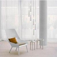 Modern 1.5 3.5M Milan Led Cone lights Spiral pendant lamps for dining room drop light long Spiral Stair lighting pendant lights