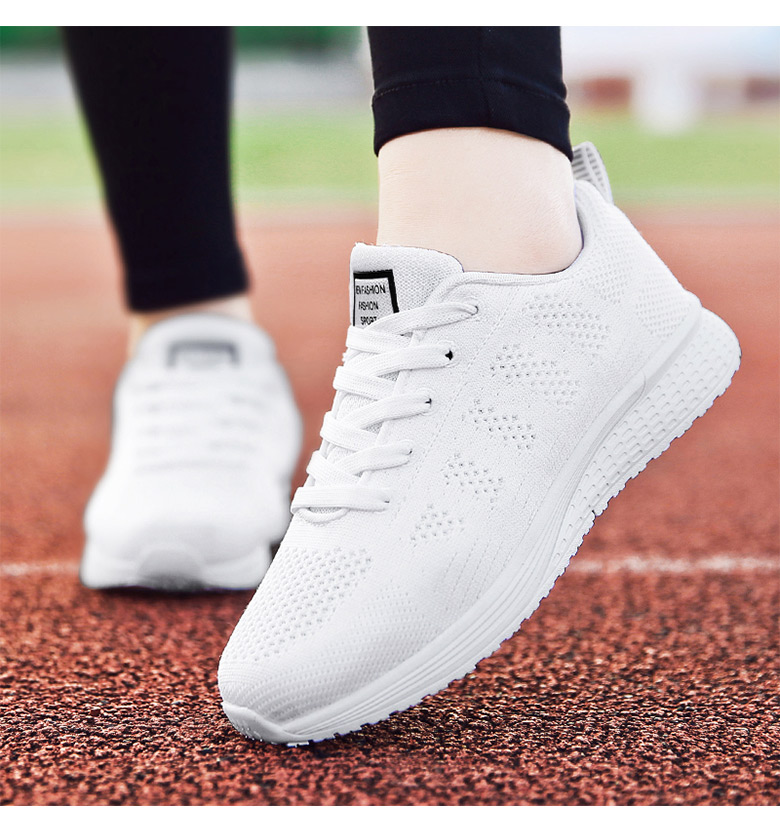 Women Casual Shoes Breathable white
