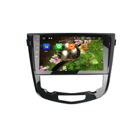KLYDE 10.12 Din 8 Core Android 8.0 For Nissan Qashqai AT 2013 2016 Car Multimedia Player 1024*600 Audio Without DVD