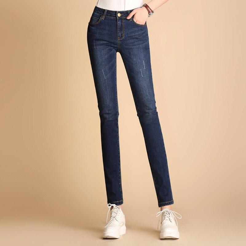 2018 Vrouw Lente Slim Fit Plus Size Flare Jeans Hoge Taille Gespannen Skinny Jeans Vintage Bell-bottom Broek Denim Broek