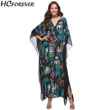 Boho Praia verão Floral Maxi Boêmio Vestido Mulheres Plus Size vestidos Casuais 2018 Vestidos Longos Soltos Grandes Roupas Verde Novo hot
