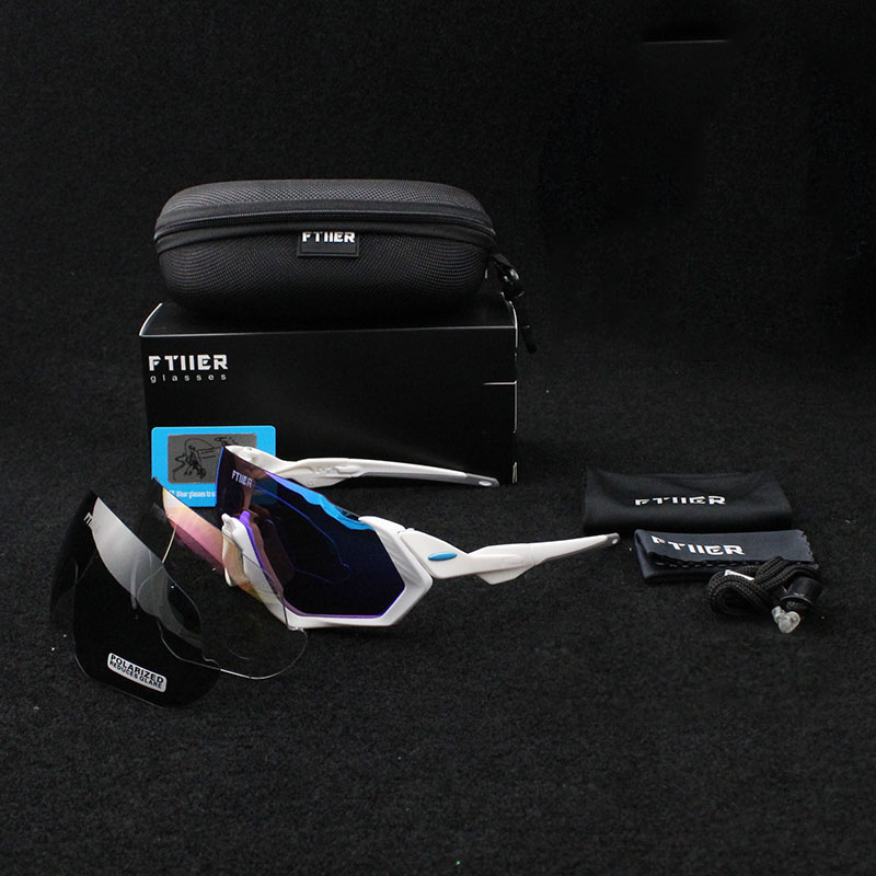 New Brand Multi lens Cycling Glasses Polarized Riding Bicycle Sunglasses Goggles Driving Eyewear Outdoor Sports Sunglasses