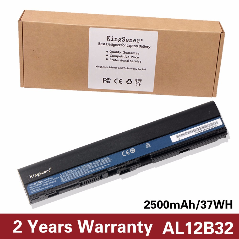 все цены на Japanese Cell New AL12B32 Laptop Battery for Acer Aspire One 725 756 V5-171 B113 B113M AL12X32 AL12A31 AL12B31 AL12B32 2500mAh