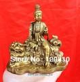 003 Chinese bronze Manjusri Manjushri Bodhisattva Buddha Statue|Statuen & Skulpturen|Heim und Garten -