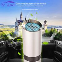 Car Air Purifier Air Purifier Ionizador Dc 12v Auto Car Freshener Air Ionic Purifier Oxygen Bar Ozone Ionizer Cleaner Sterilizer