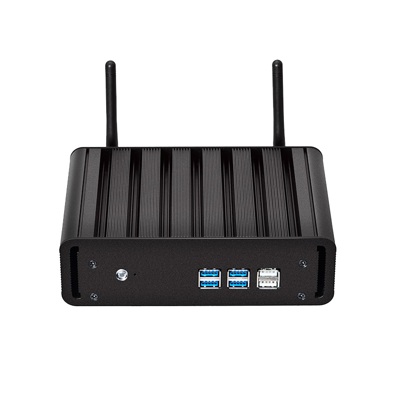 Finestre 10 Mini PC i7 7500U i5 7200U i3 7100U 8g RAM 240g SSD Mini PC Desktop 4 k UHD HDMI VGA 300 m WiFi Gigabit Ethernet