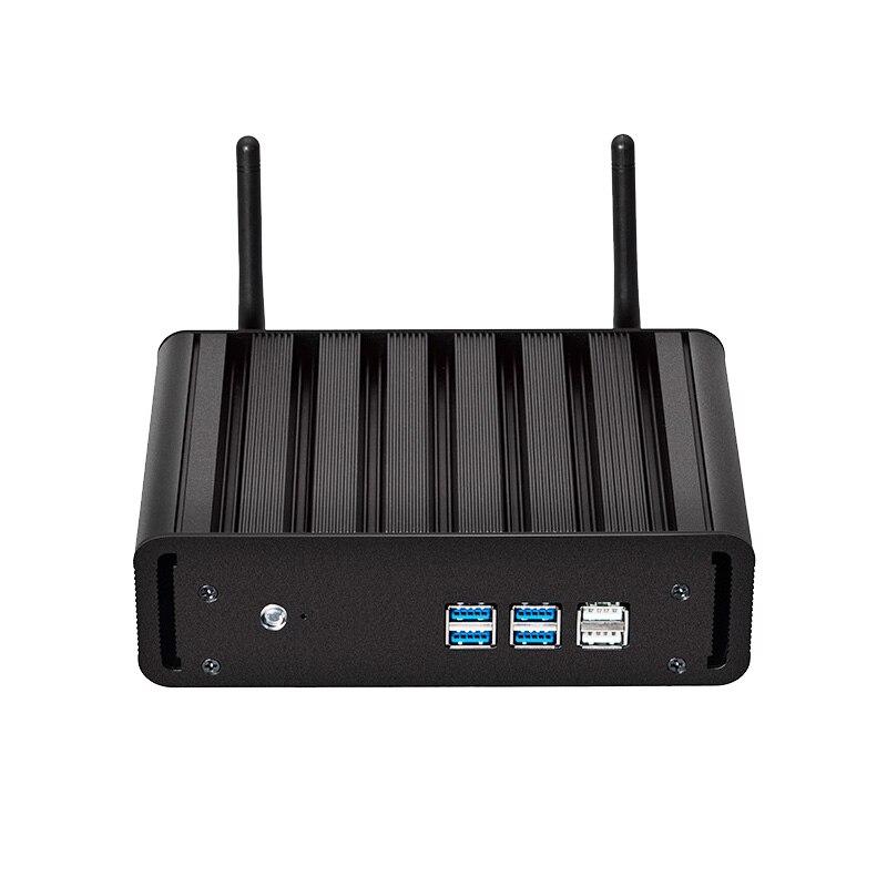 Windows 10 Mini PC i7 7500U i5 7200U i3 7100U 8G RAM 240 г SSD мини настольных ПК 4 К UHD HDMI VGA 300 м Wi-Fi Gigabit Ethernet