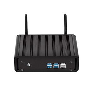 Windows 10 Mini PC i7 7500U i5 7200U i3 7100U 8G RAM 240G SSD Mini Desktop PC 4K UHD HDMI VGA 300M WiFi Gigabit Ethernet