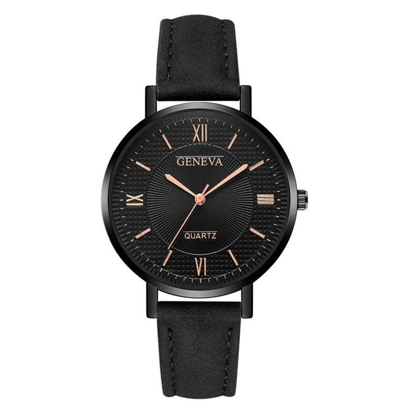 Women Watches Reloj Mujer Leather Band Casual Analog Quartz Wrist Watch Ladies Watch Wristwatch Zegarek Damski Relogio Feminino