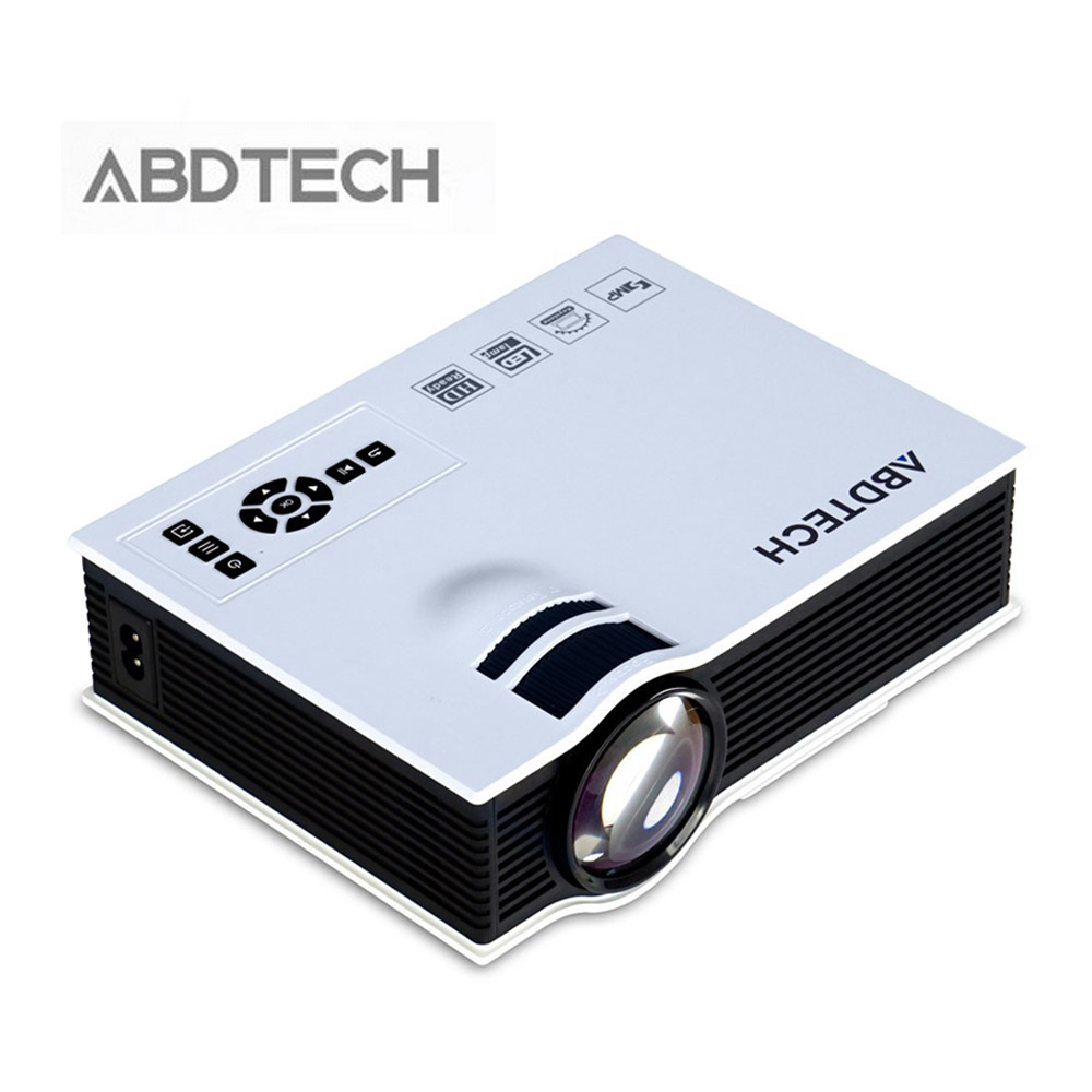 800 Lumens Home Theater Mini Portable Led Multimedia: Abdtech UC40 3D Projector LED Mini Portable HDMI Portable