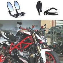 7/8 » 22 мм руль Motocycle зеркала заднего вида алюминиевого сплава мотор боковые зеркала для мотоциклов